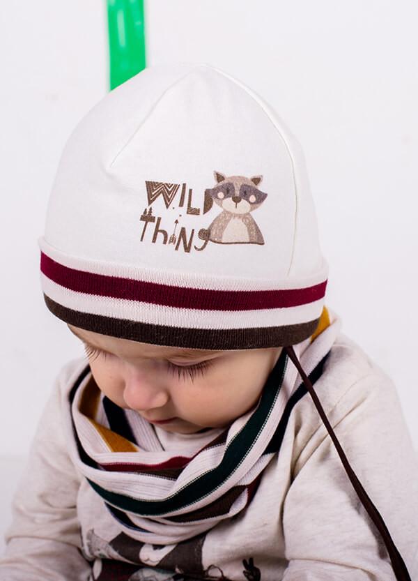 Детская шапка ТИТО(набор) для мальчиков оптом размер 44-46-48