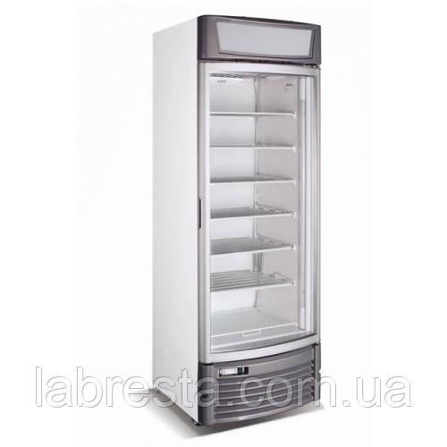 Шкаф морозильный со стеклянной дверью CRYSTAL CRF 400 CURVED