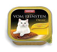 Консерва Вом Фейнштен для котов с куриной печенью 100гр, Анимонда