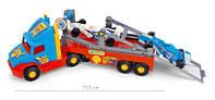 Детская машинка  тягач-эвакуатор для спортивных автомобилей серии Super Truck Wader (36620).