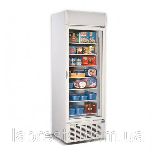 Шафа морозильна зі скляними дверима CRYSTAL CRF 400
