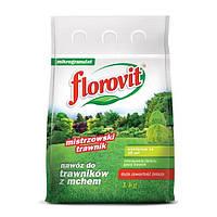 Флоровит минеральное удобрение для газонна, 1 кг