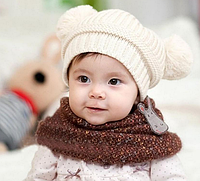 Детская шапочка с балабончиком