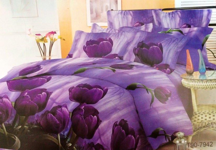 Двуспальный комплект постельного белья Сказочный Тюльпан