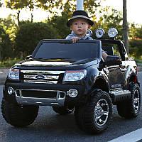 Детский электромобиль Ford Ranger EVA KD105 черный покраска ***
