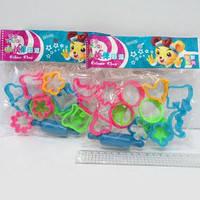 Набор форм для пластилина 12штук