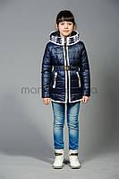Курточка с довязом для девочки