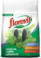 Флоровит минеральное удобрение для хвойных растений, 1 кг