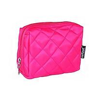 Ярко-розовая квадратная косметичка