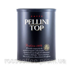 Кофе молотый Pellini Top 250 г в банке