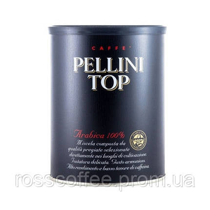 Кофе молотый Pellini Top 250 г в банке, фото 2