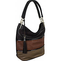 Красивая женская сумка из замши