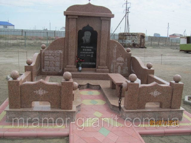 Мемориальный комплекс из гранита П - ЭМК 39