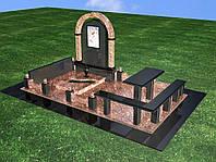 Мемориальный комплекс из гранита П - ЭМК 42
