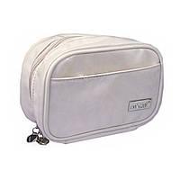 Белоснежная сумочка-косметичка для косметики и аксессуаров