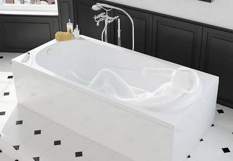 KOLO SAGA ванна прямоугольная 160*75 см с ножками и элементами крепления, фото 2