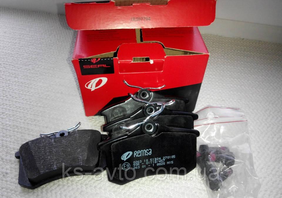 Колодки тормозные дисковые задние REMSA RS 1569.02