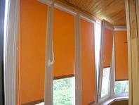 Как правильно замерять окно под рулонные шторы?