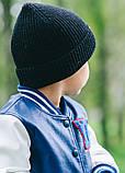 Детская шапка ПРИНСТОН для мальчиков оптом  размер универсальный(48-52), фото 4