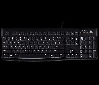 Клавиатура Logitech Keyboard K120 USB RUS OEM (920-002522)