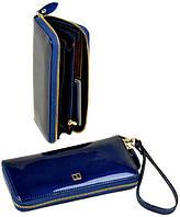 Большой кошелек женский на молнии Bretton Gold W38 blue, фото 1