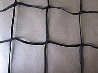 Оградительная защитная сетка (2,5мм шнур) цветная 120х120, оранжевый
