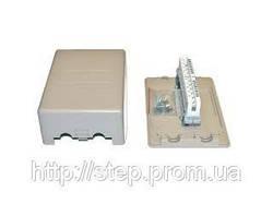 Коробка распределительная на 10 пар (с плинтом)