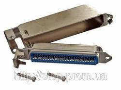 Роз'єм TELCO-50M — вилка 50 контактів для пайки на кабель (для телефонних станцій PANASONIС)
