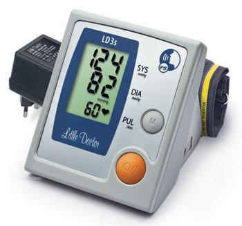 Говорящий автоматический тонометр на плечо LD-3s Little Doctor
