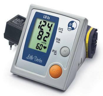 Говорящий автоматический тонометр на плечо LD-3s Little Doctor, фото 2