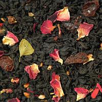 Черный чай Малиновый 500 грамм