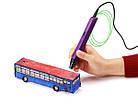3д ручка Myriwell 4 LCD дисплей RP 800A (3D pen) + набор пластика 12 цветов в подарок, фото 3