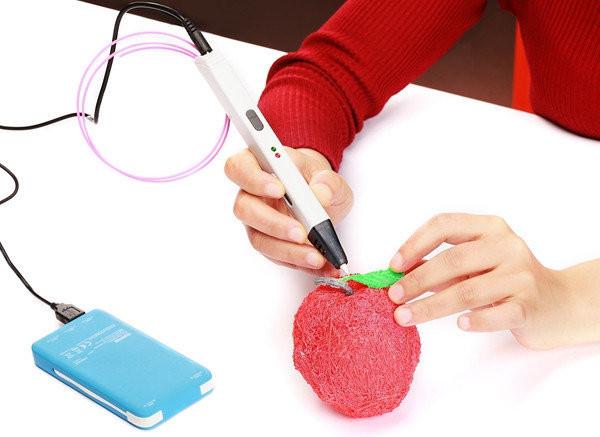 3д ручка Myriwell 4 LCD дисплей RP 800A (3D pen) + набор пластика 12 цветов в подарок