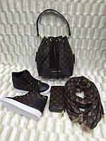 Женские модные ботинки коричневые 37 размера в Наличии