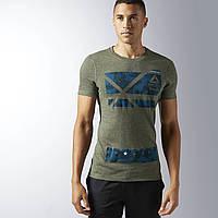 Мужская спортивная футболка Reebok CrossFit Performance Blend Graphic BK1098