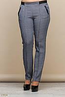 Женские стильные брюки большие размеры