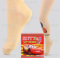 Детские качественные колготки Shuguan Cars-3 92-98-R.