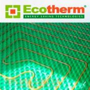 Подложка (маты) из пенополистрола для монтажа водяных  теплых полов (пенополистирола) EcoTherm Экотерм