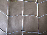 Оградительная защитная сетка (2,5мм шнур) белая 40х40