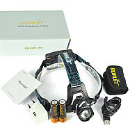 Налобный фонарь аккумуляторный мощный фокусируемый  Boruit