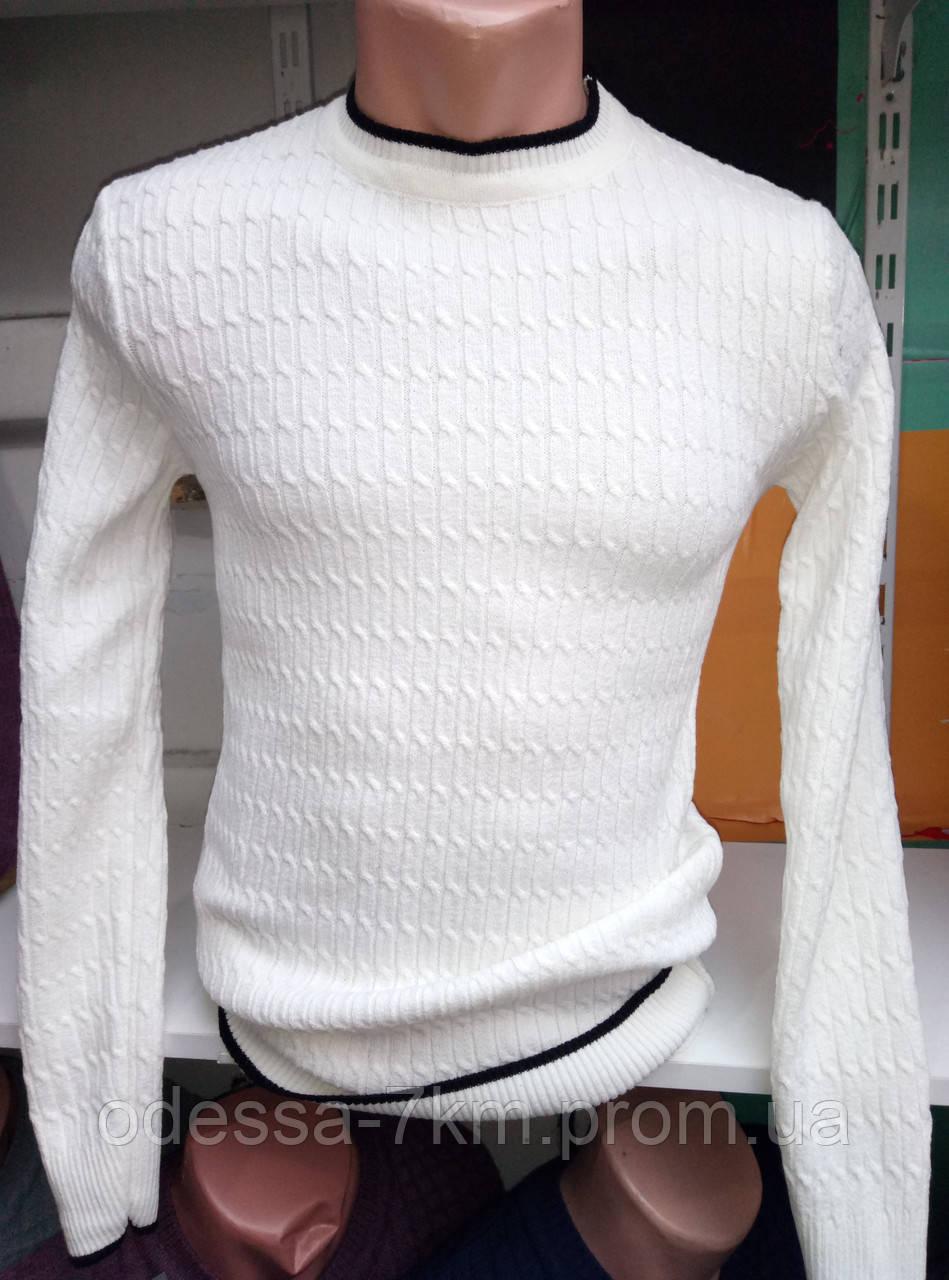 8957b9171f7d4 Мужской молодежный белый свитер 46-48рр: продажа, цена в Одессе ...