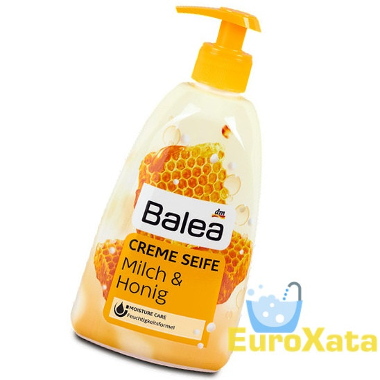Крем-мыло BALEA Creme Seife Milch & Honig (500мл)