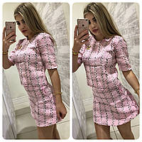 Женский костюм из твида Шанель