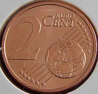 Монета Латвии. 2 евро цента 2014 год.