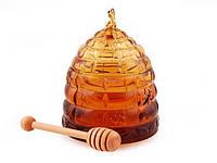 Банка для меда с ложкой Пчела