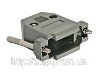 Корпус DPT-15C для разъема D-Sub 15/26 контактов с удлиненными винтами