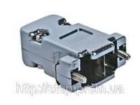 Корпус DN-9C для разъема D-Sub 9/15 контактов, металлизированный