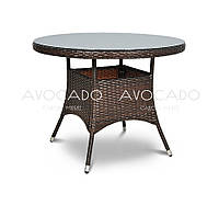Стол плетеный из ротанга ROMA   80х80см