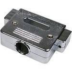 Корпус DN-50C для разъема D-Sub 50/78 контактов, металлизированный