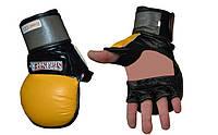 Перчатки для миксфайта и муэй-тай Sprinter ever gel (кожа) XL